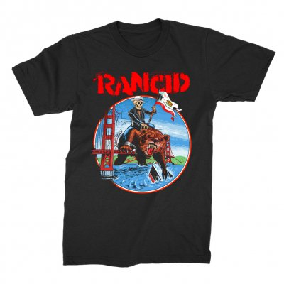 rancid - California Maiden T-Shirt (Black)