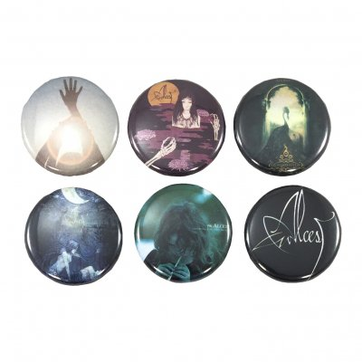 alcest - 6 Piece Pin Set