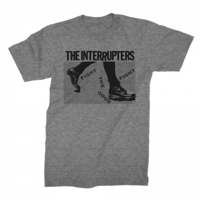 the-interrupters - Boots T-Shirt (Grey Triblend)