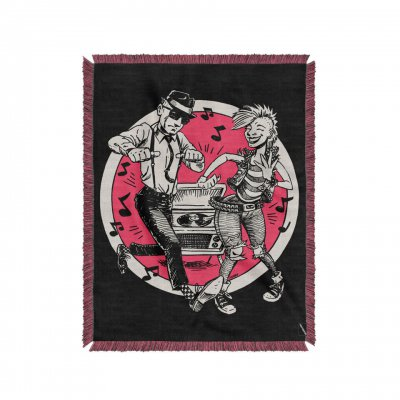 the-interrupters - Dancing Couple Throw Blanket