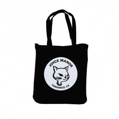 joyce-manor - Winking Cat Tote Bag (Black)