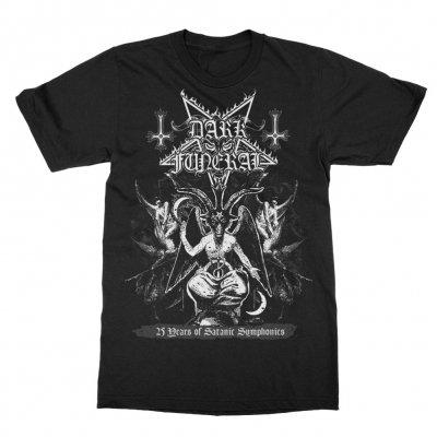 dark-funeral - 25th Anniversary Baphomet T-Shirt (Black)