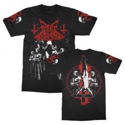 dark-funeral - Cloak Crosses T-Shirt (Black)