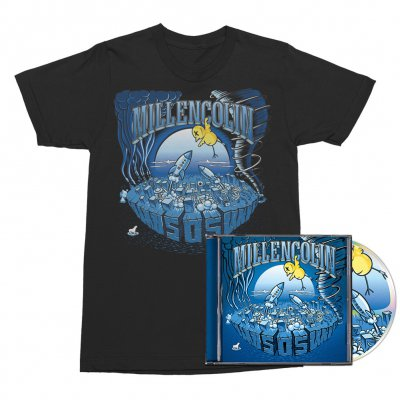 Millencolin - SOS CD + Tee (Black) Bundle