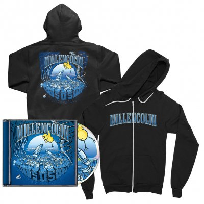 millencolin - SOS CD + Hoodie (Black) Bundle