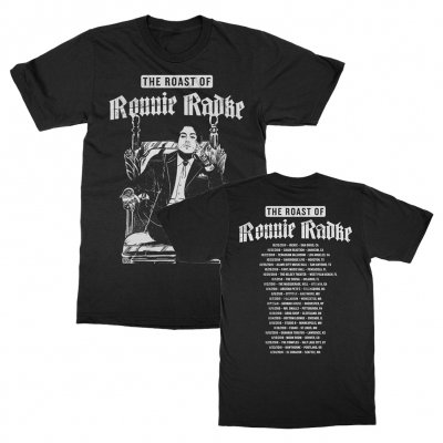 Roast Tour Tee (Black)