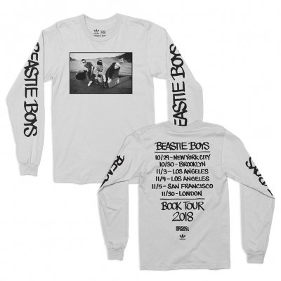 beastie-boys - Live & Direct Adidas Tour Longsleeve (White)
