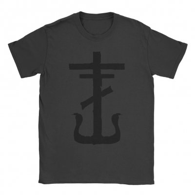 frank-iero - Cross Tee (Faded Black)