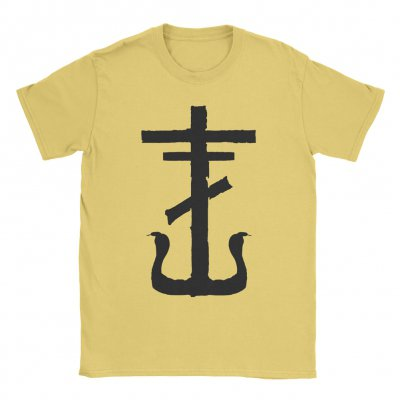 frank-iero - Cross Tee (Yellow)