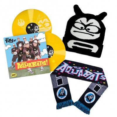 the-aquabats - The Fury Of The Aquabats Remastered 2xLP (Yellow) + Beanie + Scarf Bundle