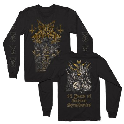 dark-funeral - 25 Years of Satanic Symphonies Long Sleeve (Bla