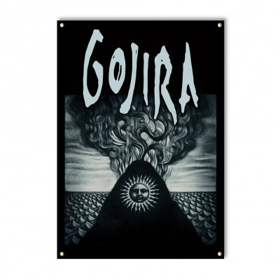 valhalla - Gojira Elements Flag