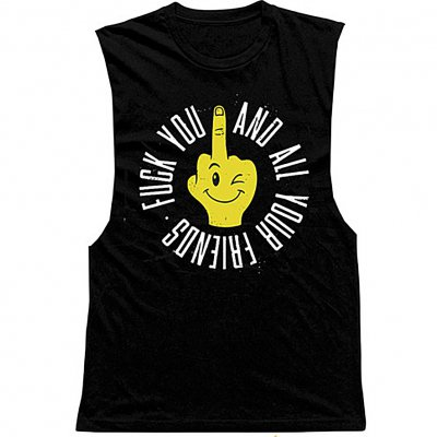 Fuck You And All Your Friends Tank (Black)
