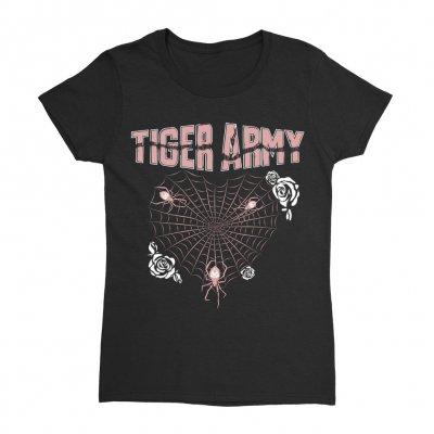tiger-army - Heartweb Women's Tee (Black)
