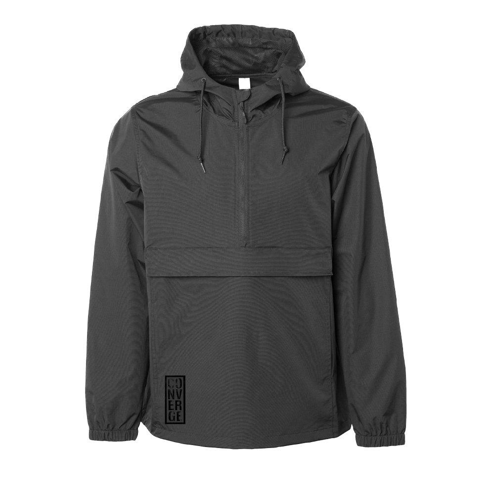 IMAGE | Box Logo Anorak Jacket (Black)