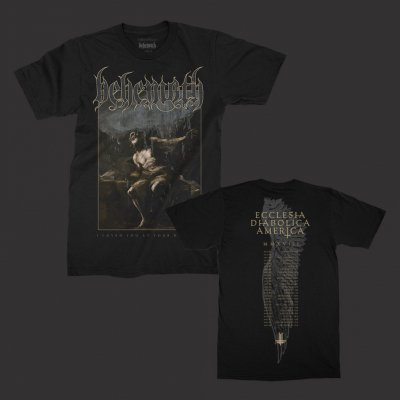 behemoth - ILYAYD Cover NA2018 Tour T-Shirt (Black)