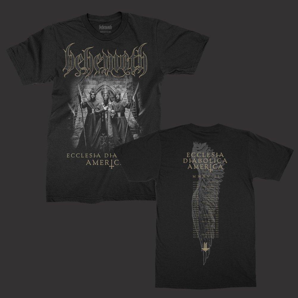 IMAGE | Ecclesia Diabolica America T-Shirt (Black)