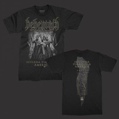 behemoth - Ecclesia Diabolica America T-Shirt (Black)
