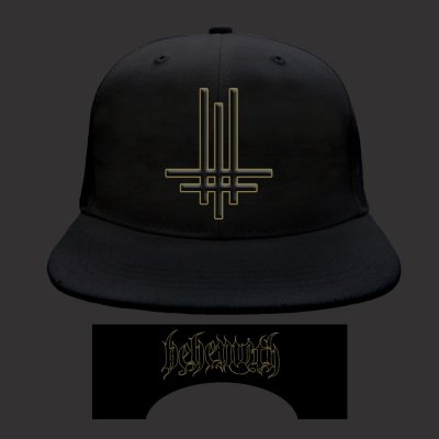 behemoth - Triumveritas Snapback Hat (Black)