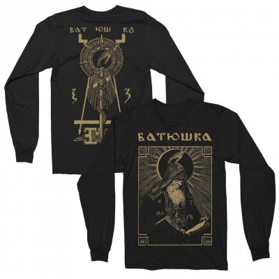 batushka - Shema Monk Long Sleeve (Black) 0e3ddc8e2fa11