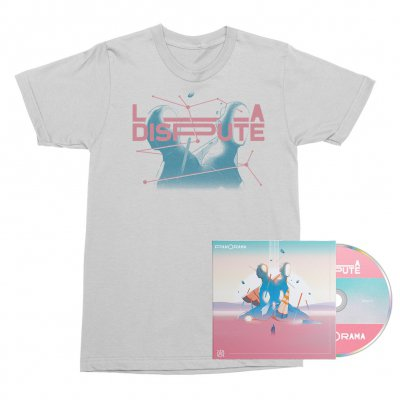 La Dispute - Panorama CD + Tee (White) Bundle