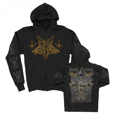 dark-funeral - 25 Years of Satanic Symphonies Zip Up (Black)