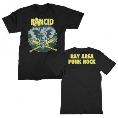 rancid - Bay Area Punk Rock T-Shirt (Black)