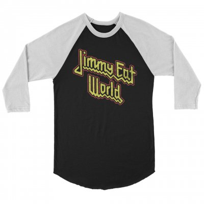 jimmy-eat-world - Priest Raglan (Black/White)