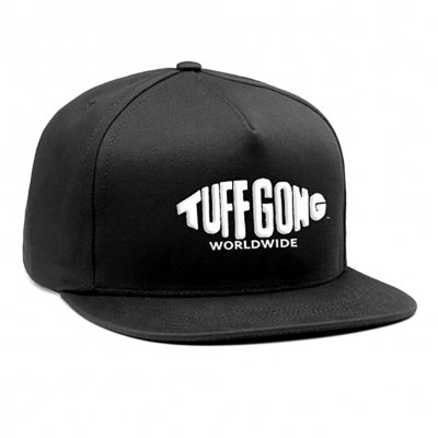 ziggy-marley - Tuff Gong Snapback Hat (Black)