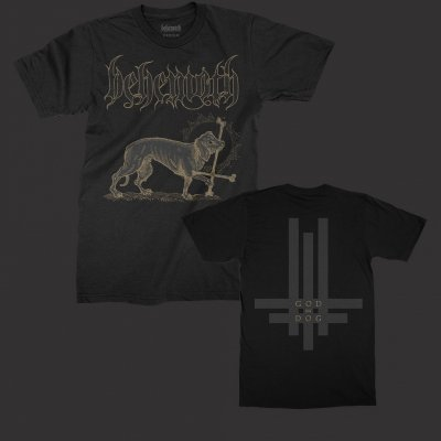 behemoth - God=Dog T-Shirt (Black)