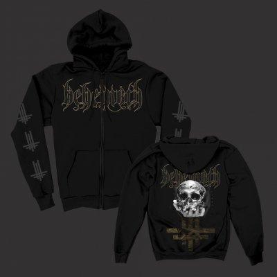 behemoth - ILYAYD Skull Zip-Up Hoodie