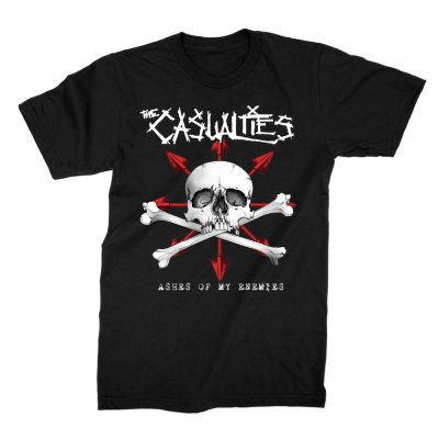 the-casualties - Ashes of my Enemies Tee (Black)