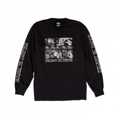 beastie-boys - Photos Long Sleeve (Black)