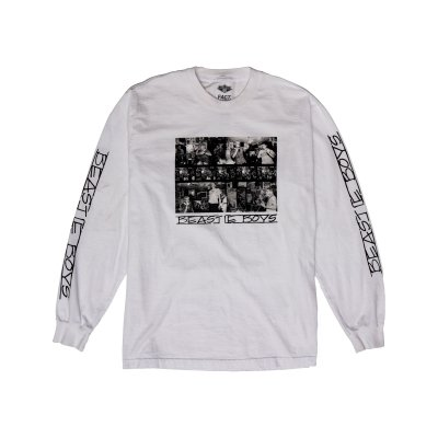 beastie-boys - Photos Long Sleeve (White)