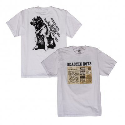 beastie-boys - FACT x Beastie Boys Some Old BS (White)