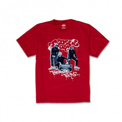f5fc60008 B Boys Tee (Red) | Beastie boys merch