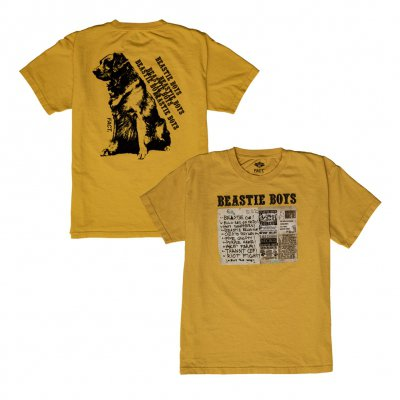 beastie-boys - FACT x Beastie Boys Some Old BS (Yellow)