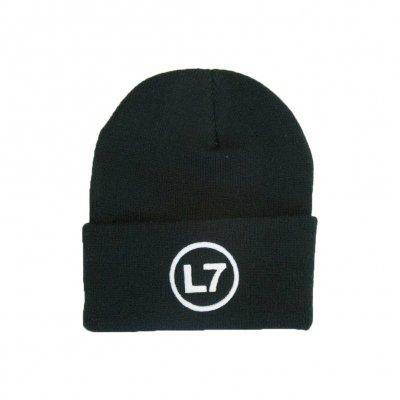 l7 - Logo Beanie (Black)