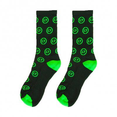 l7 - Logo Pattern Socks