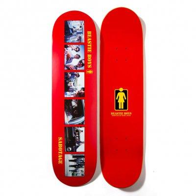 beastie-boys - Girl Sabotage Skateboard (Red)