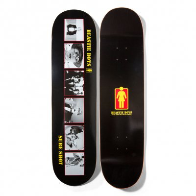 beastie-boys - Girl Sure Shot Skateboard (Black)