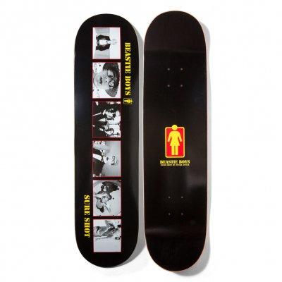 beastie-boys - Girl Sure Shot Skateboard (Black)