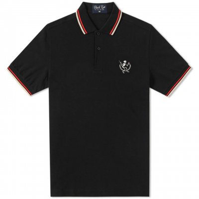 social-distortion - Skelly Polo Shirt (Black)