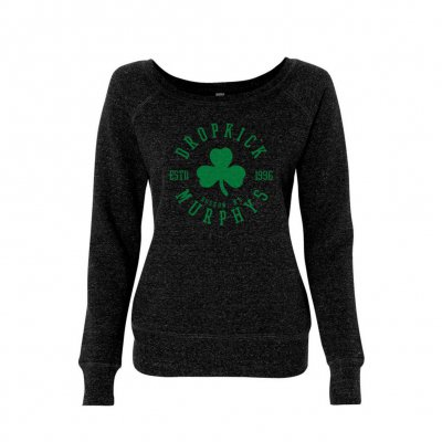 dropkick-murphys - Shamrock Seal Women's Sweater (Charcoal)