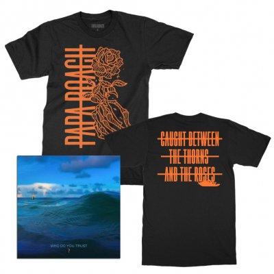 papa-roach - Black Thorns CD Bundle