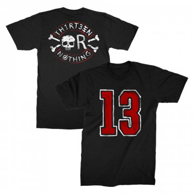 backyard-babies - 13 Nothing Tee (Black)