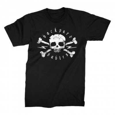 backyard-babies - Skull Tee (Black)