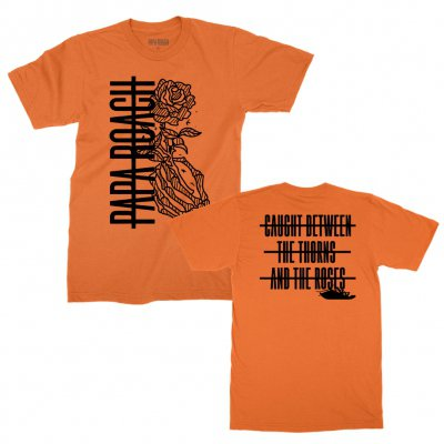 papa-roach - Thorns Tee (Orange)