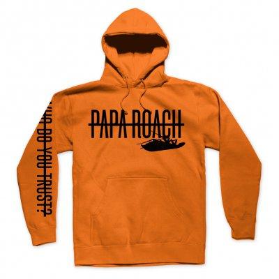 papa-roach - Blaze Pullover Hoodie (Orange)