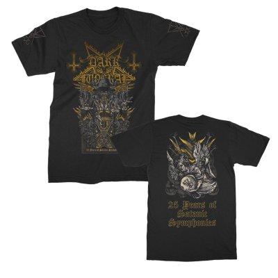 dark-funeral - 25 Years of Satanic Symphonies Tee (Black)